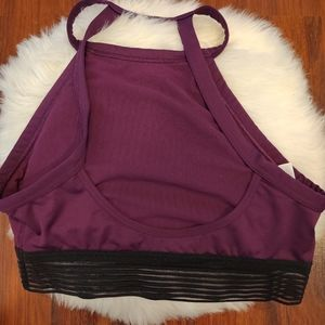 Victoria's Secret Intimates & Sleepwear - NWOT Victoria Sport Maroon High Neck Sports Bra